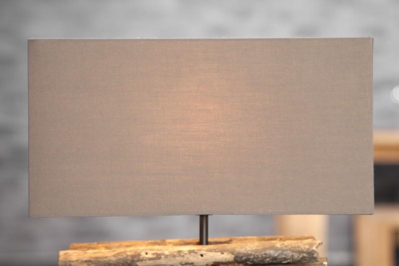 Stolní lampa Periferie - naplavené dřevo / 17322