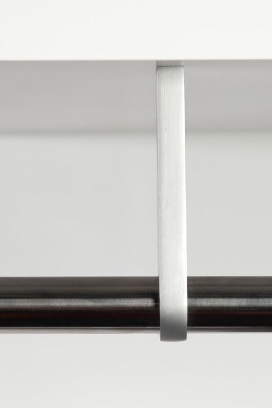 Nástěnný věšák Claire 75cm - bílý / 17977