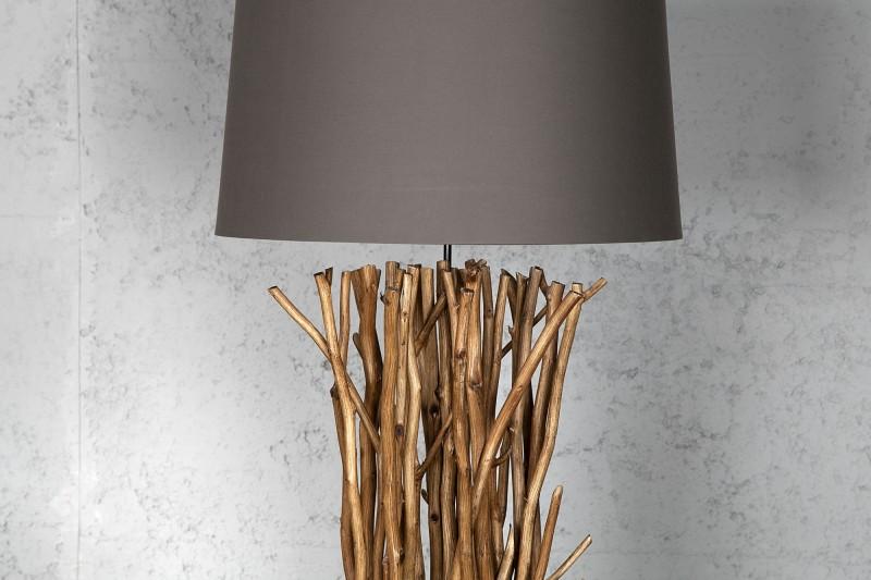 Stojací lampa Ibague 175cm - naplavené dříví / 19472