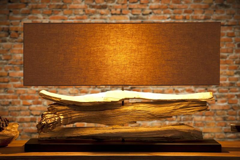 Stolová lampa na naplavené dříví Riverine / 17326