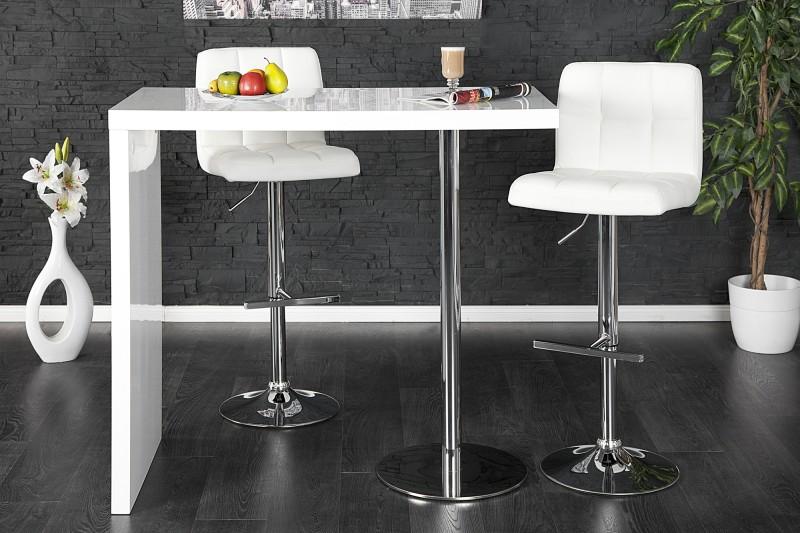 Barový stůl Magnus bílý / 15047