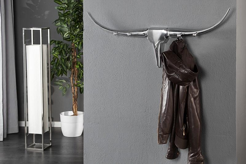 Nástěnný věšák Bull 100cm - hliník / 20076