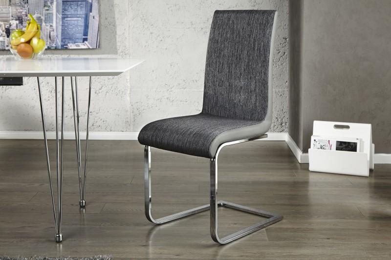 Jídelní židle Grace - antracit, šedá / 20110