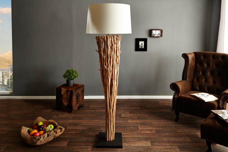 Stojací lampa Euphoria - naplavené dříví 175cm / 20697