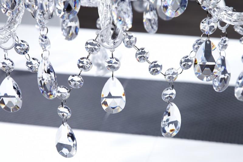 Závěsné světlo Diamond - 15 ramen, čiré / 1281