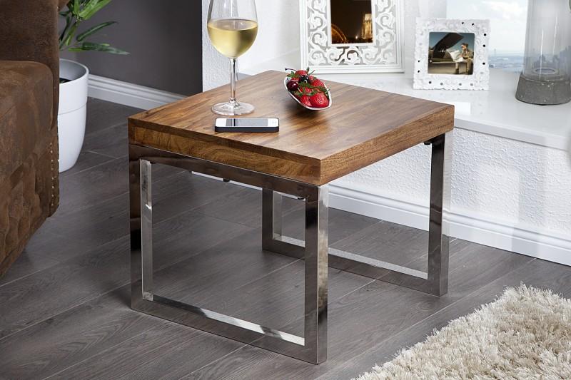 Konferenční stolek Holly 45cm - Sheesham / 21009