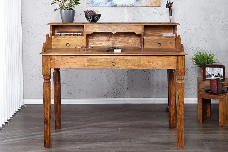 Pracovní stůl Hemingway 115cm x 55cm - Sheesham / 17293