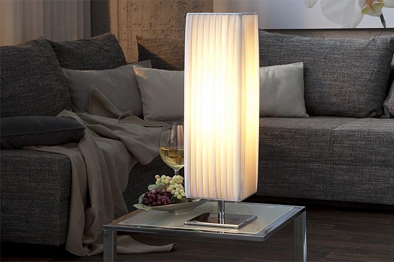 Stolní lampa Paris White 60cm - bílá  / 98