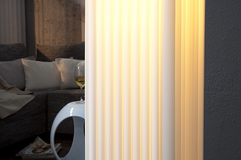 Stojací lampa Paris - bílá 120cm / 111