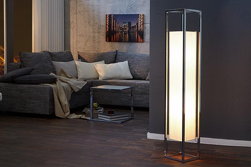 Stojací lampa Agapune 120cm - bílá / 10878