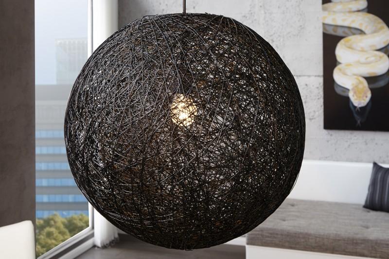 Hängeleuchte cocoon schwarz 60cm 11015 2185