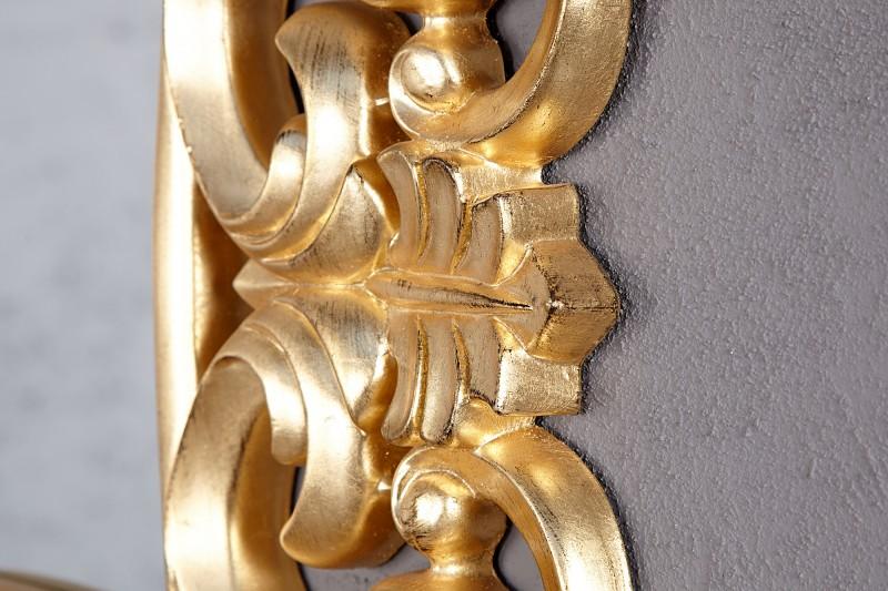 Nástěnné zrcadlo Venezia 75cm - zlaté / 15626