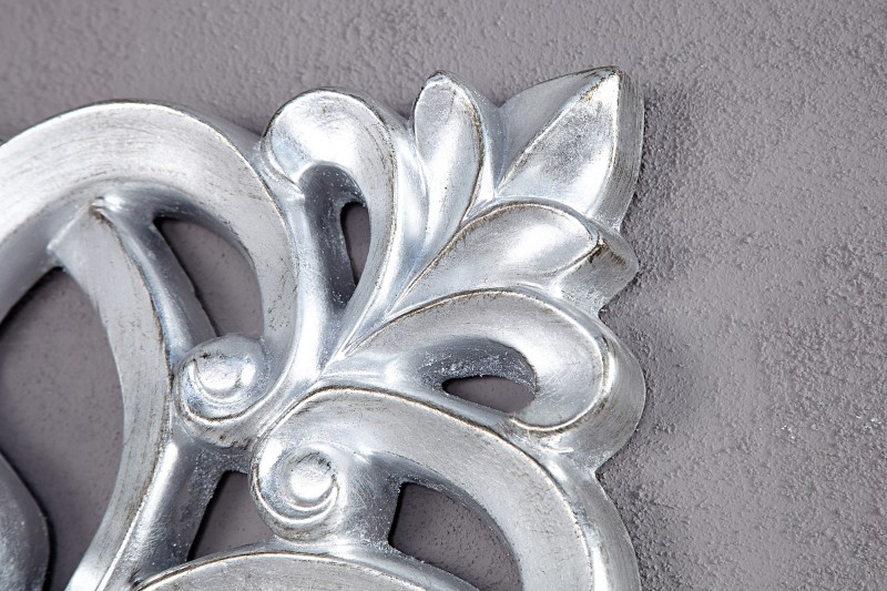 Nástěnné zrcadlo Venezia 75cm - stříbrné / 15627