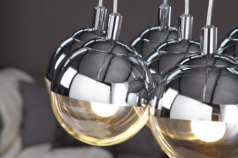 h ngeleuchte galante mit 7 kugeln 16418 2559. Black Bedroom Furniture Sets. Home Design Ideas