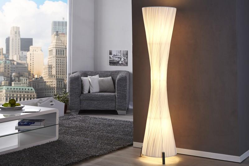 Stojací lampa Paris 160cm - bílá / 7680