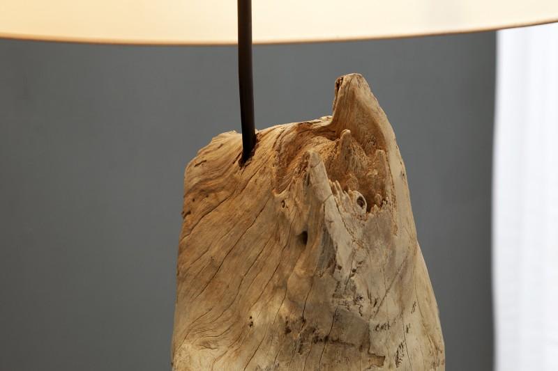Stojací lampa Rousilique  - naplavené dříví -béžová / 17320