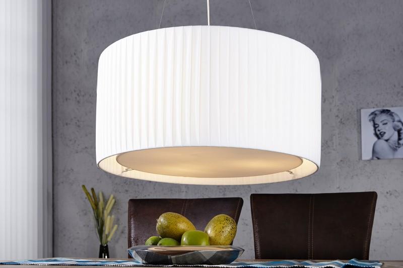 Závěsné světlo Sobrieta 65cm - bílá / 15706