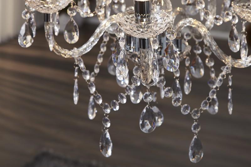 Závěsné světlo Diamond - 5 ramen, čiré / 1451