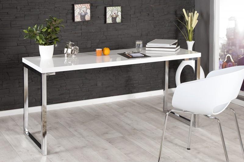 Pracovní stůl bílý 160x60cm / 21142