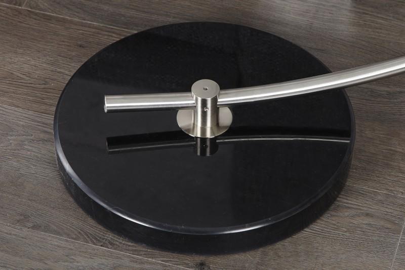 stehleuchte python schwarz gold m dimmer 5758 1744. Black Bedroom Furniture Sets. Home Design Ideas