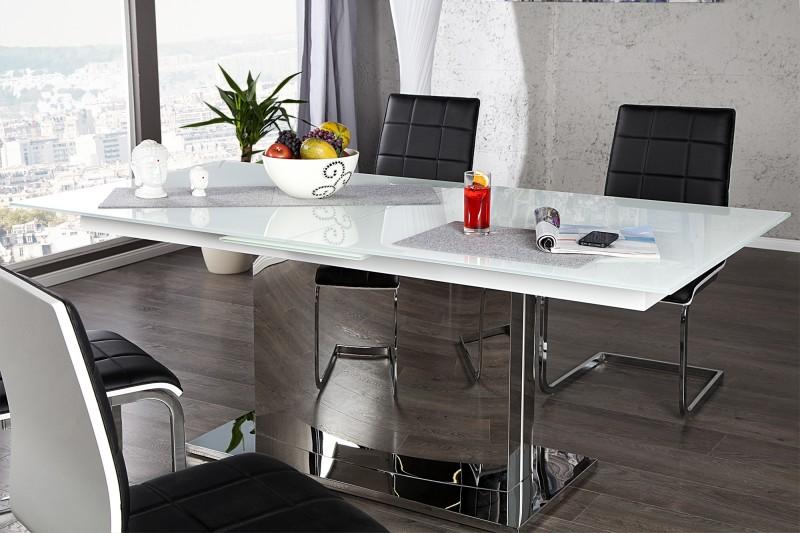 esstisch concord 180 220cm weiss 21951 3721. Black Bedroom Furniture Sets. Home Design Ideas