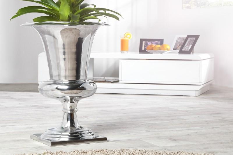 Branka na vázu 60cm stříbrná / 21708
