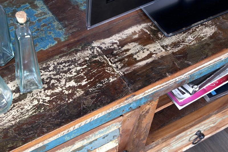Televizní stolek Jakarta 150 cm recyklované dřevo / 21740
