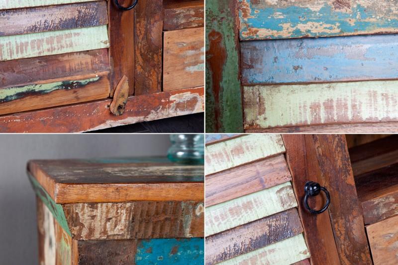 Televizní stolek Jakarta 150cm x 60cm - recyklované dřevo / 21740