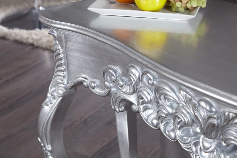 Konzole Benátky stříbrná 110cm / 15634