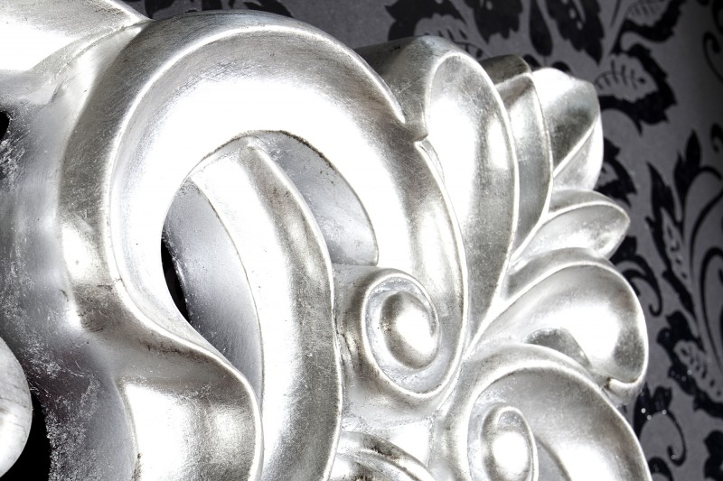 Zrcadlo Benátky stříbrné starožitné 180cm / 15630