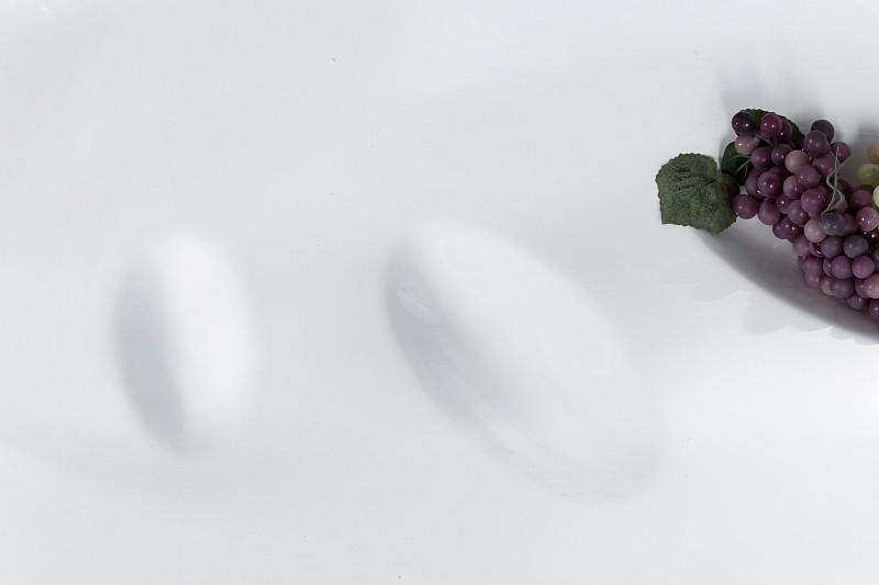 Couchtisch Organic II High Gloss Lack weiss 13463 2447