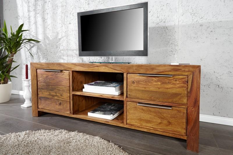 Televizní stolek Hidalgo 135cm x 50cm - Sheesham / 22684