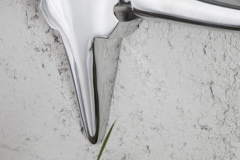 Nástěnná dekorace Antlers Bull 120cm - stříbrná / 8528