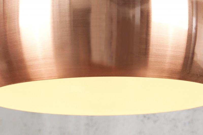 Závěsná lampa Violet - měděná / 22973