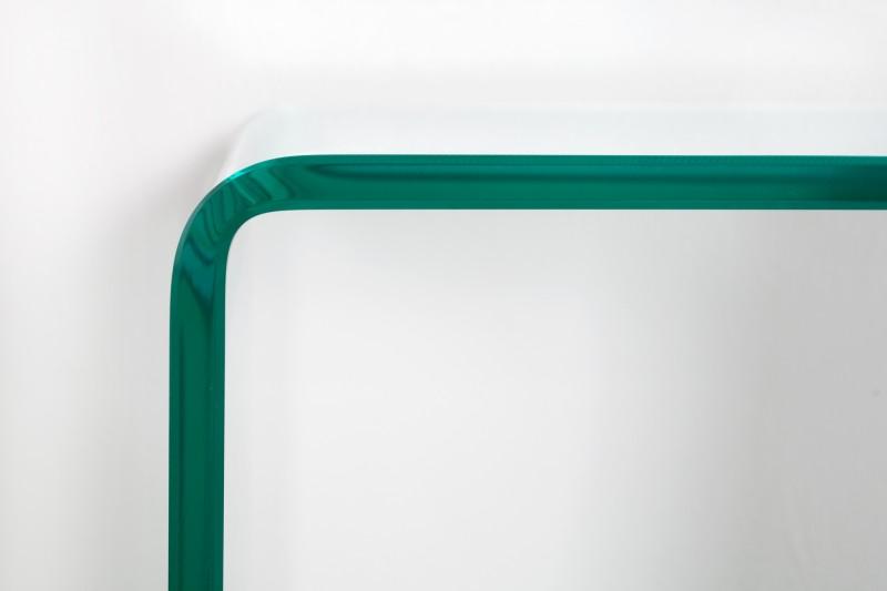 Pracovní stůl Fantome 100cm x 35cm - tvrzené  sklo / 22866