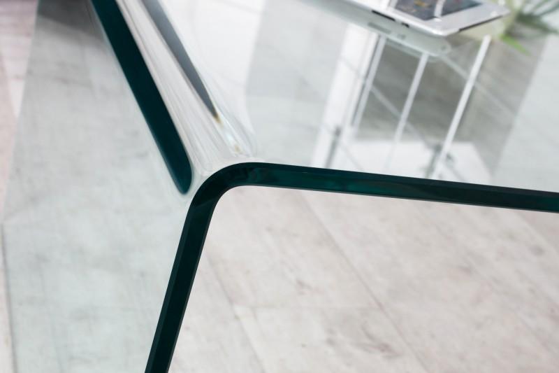 Konferenční stolek Fantome 110cm x 60cm - tvrzené sklo / 22874