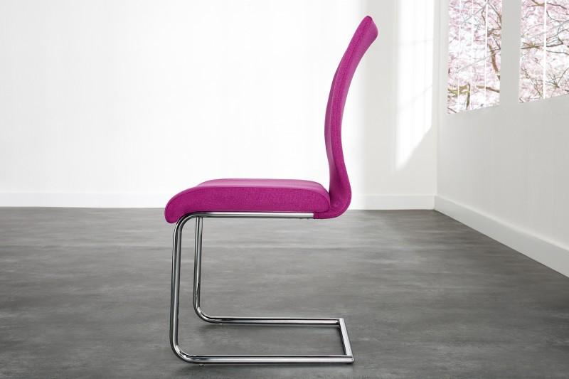 Konzolová židle Suave růžová / 22415