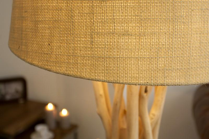 Stojací lampa Wild Nature 155cm - naplavené dřevo / 30208