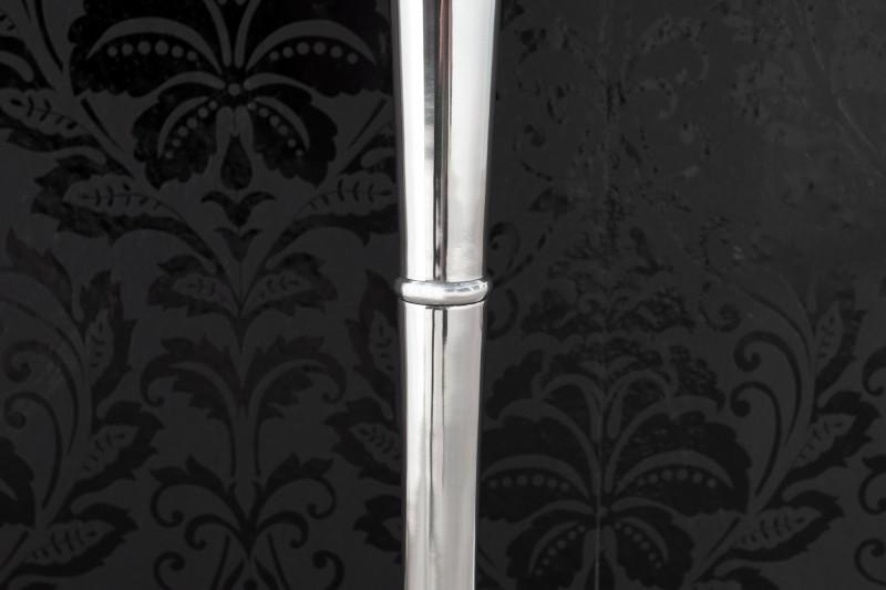 Držák na svíčky 5 ramen stříbrný 120cm / 17365