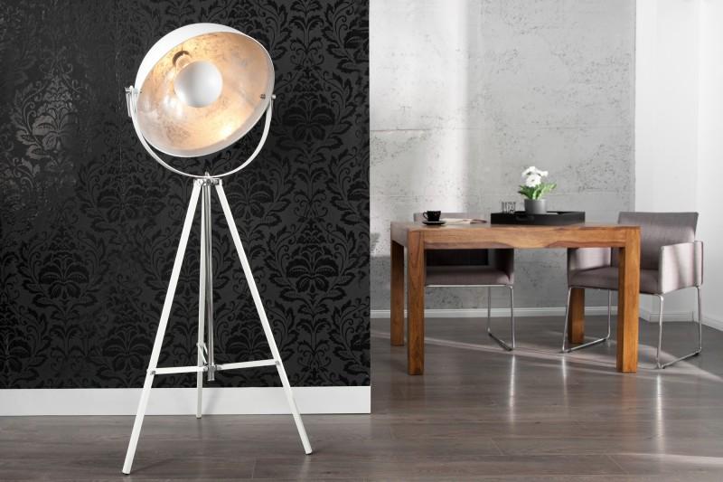 Stojací lampa Hollywood 160cm - bílá / 18693