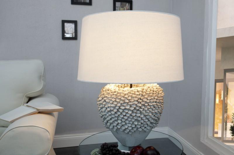 Stolní lampa Ciarra 55cm - bílá / 35297