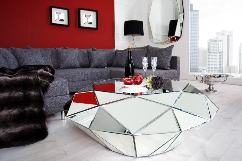 Diamantový konferenční stolek 115cm / 30143