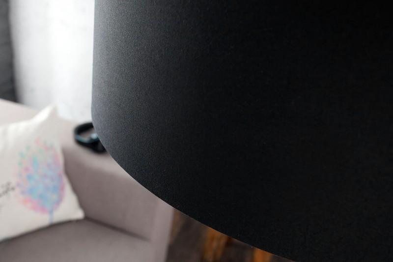 Stojací lampa Big Bow - černá / 35399