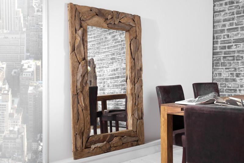 spiegel tribe 160cm aus recyclingholz 23142 4083. Black Bedroom Furniture Sets. Home Design Ideas
