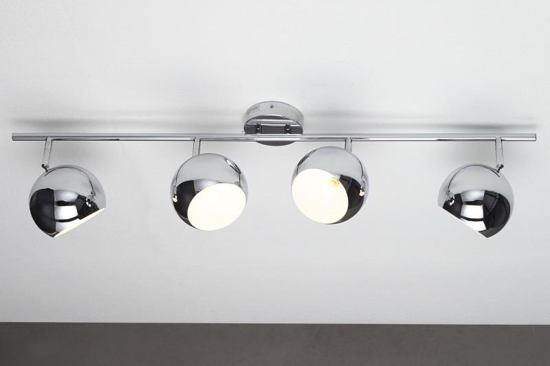 Závěsná lampa Violet 4er - chrom / 11168