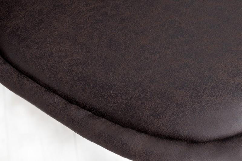 Jídelní židle Olivia - tmavě hnědá / 35707