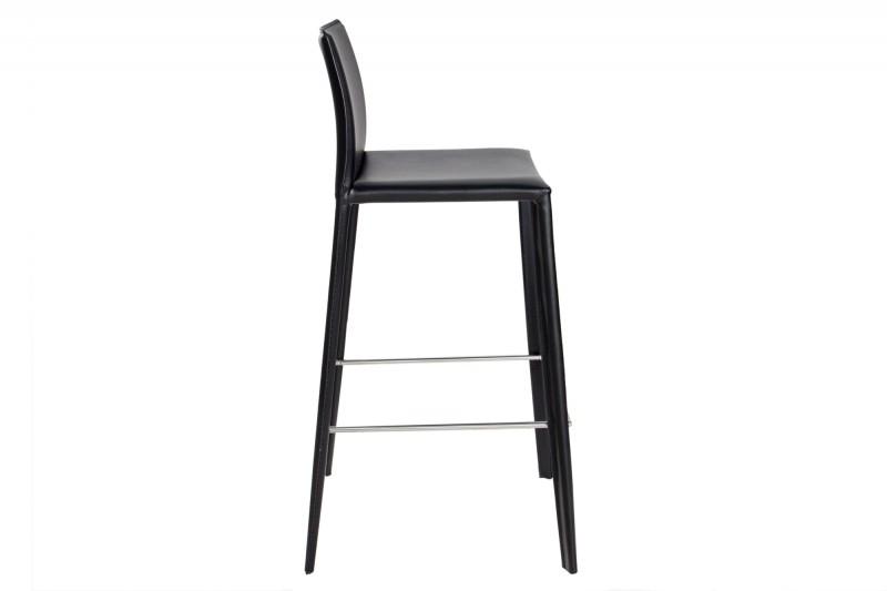 barhocker milano leder schwarz 35616 4479. Black Bedroom Furniture Sets. Home Design Ideas