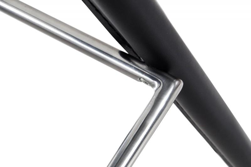 Barová židle Milano černá kůže / 35616