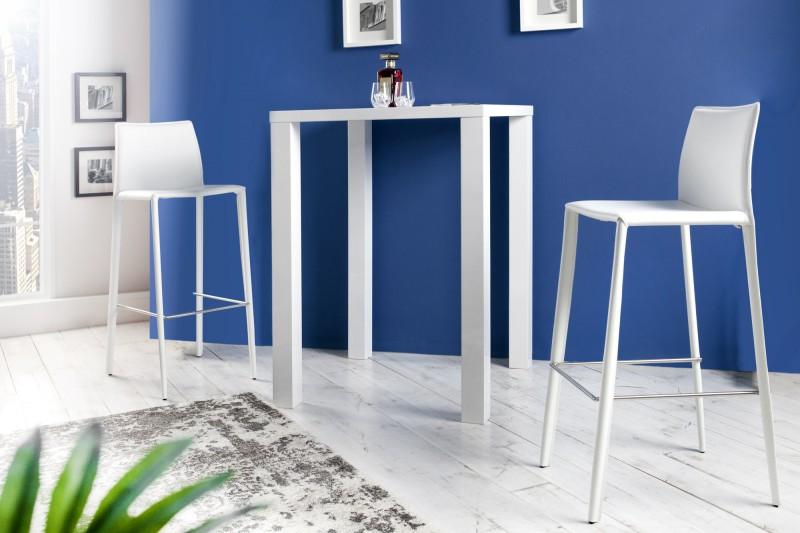barhocker milano leder weiss 35618 4481. Black Bedroom Furniture Sets. Home Design Ideas