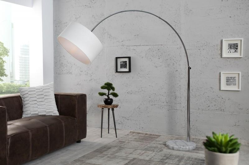 Stojací lampa Big Bow - bílá / 35596